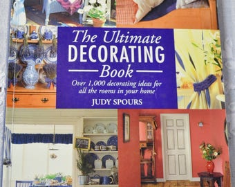The Ultimate Decorating Book Over 1000 Decorating Ideas For All The Rooms In Your Home Paperback Book Interior Design PanchosPorch