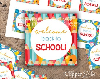 Back to School Tags  // Teacher Tags // Student Tags
