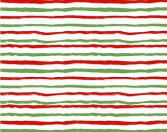 Red and green fabric   Etsy : stripe quilt fabric - Adamdwight.com