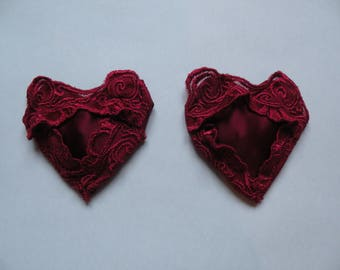 Love Me Red Lace Pasties