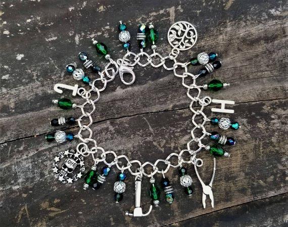 ONE OF A KIND: Charm Bracelet, Hawk & Jeni (Beyond Ecstasy)