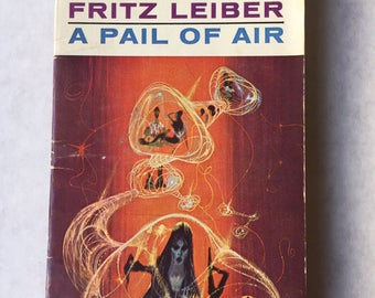 Pail of Air By FRITZ LEIBER - 1964 Science Fiction Paperback Richard Powers cover
