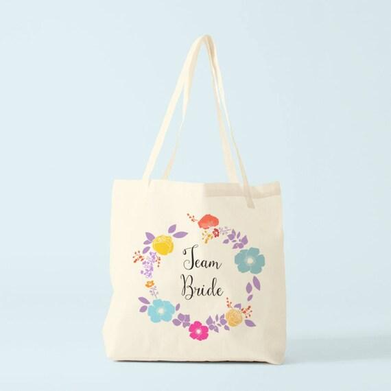 Canvas bag, Team Bride.