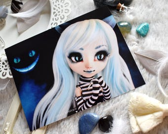 "Photography ""Cheshire Smile"" - 11x15cm - Pullip, Doll photography, print, art"