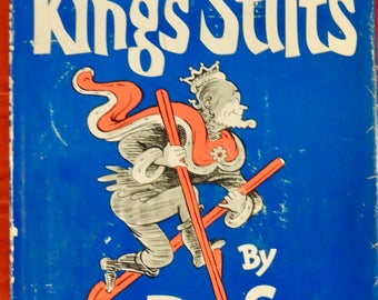 1960 The King's Stilts - Dr. Seuss - Original Dust Jacket