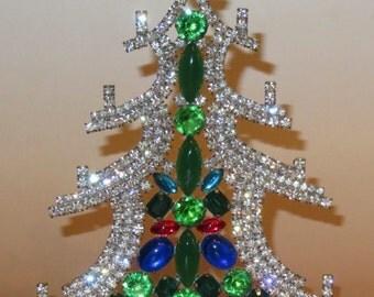 Rhinestone Christmas Tree