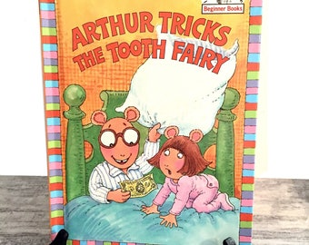 Arthur Tricks The Tooth Fairy, Marc Brown, Books about Teeth, Animal Characters, Childrens Book, Beginner Books, Easy Reading
