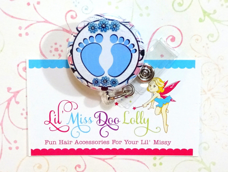 Nurse Badge Reel Nursing Badge Holder Nicu Badge Reel Retractable