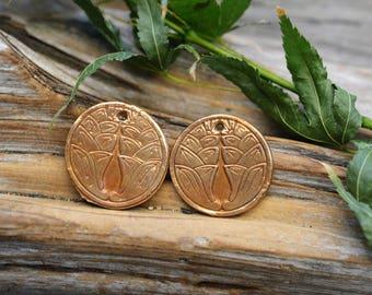 Japanese Crest- Handmade Bronze Components