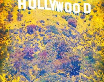 Hollywood Fine Art Print, California Photography, Los Angeles Photography, La La Land, Vintage Hollywood, Cinema