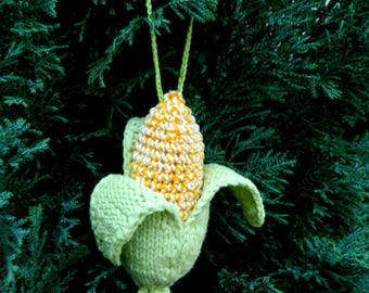christmas gift for kids funny gift for friend crochet corn toy christmas decor natural new year gift christmas tree toys for boys room decor