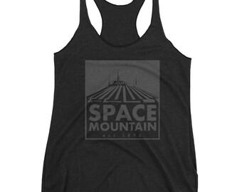 Disney Ride Inspired Tank Top | Space Mountain | Disney Mountain | Disney Racerback Tank Top | Disney Shirt | Walt Disney World