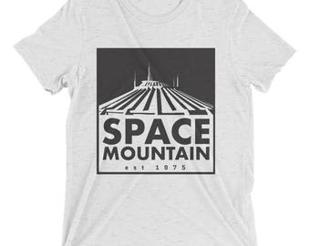 Disney Ride Inspired Tee Shirt | Space Mountain | Disney Mountain | Disney Tee | Disney Shirt | Walt Disney World