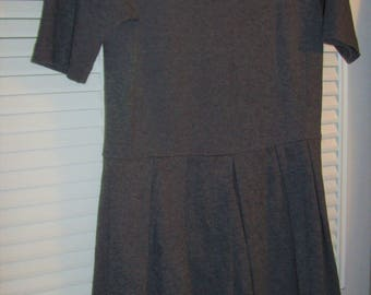 Gap Dress 8 - 10, Shorter Wool Look, Flirty Skirt, Fun Vintage Gap Find !  see details