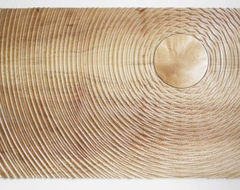 Immaterial, contemporary wood sculpture by james crisp