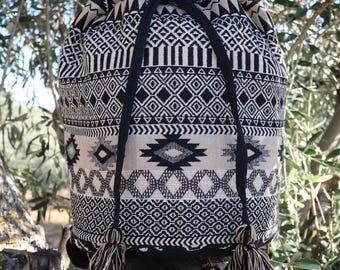 Rucksack,Rucksack Backpack,Rucksac Women,Rucksack Men,Rucksack Cotton,Rucksack Backpack Women,Tapestry Backpack,Aztec Backpack,Boho Backpack