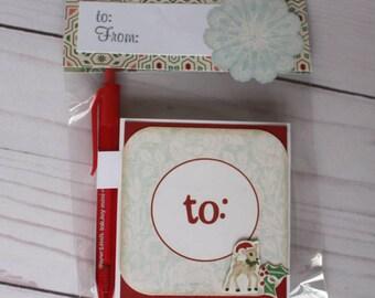 Reindeer Post it Note Holder Teacher Gift