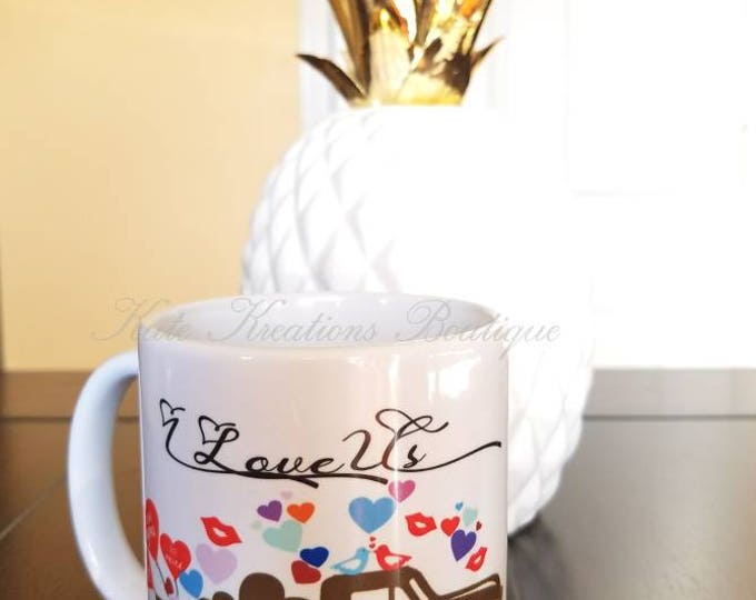 Featured listing image: Valentines Mug/I Love Us Coffee Mug