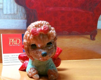 OOAK (One of a kind) Collector Polymer Poodle