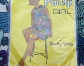 Vintage 1960s Pin Up Girl...