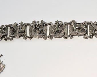 Deco Egyptian Revival bracelet