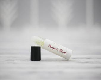 Dragons Blood Perfume - Personal Perfume - Perfume Oil - Roll on Perfume Oil - Natural Perfume - Aromatherapy Roller - Vegan Perfume