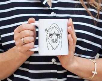 Billy the Bison - Mug