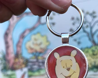 Hundred-Acre Woods Disney Fan Art Keychain
