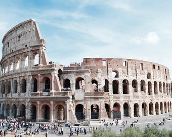 Colosseum, Rome, Italy Photo Print
