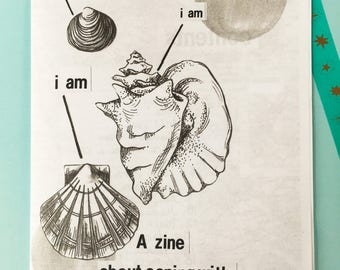 zine about depression I AM, I AM, I AM