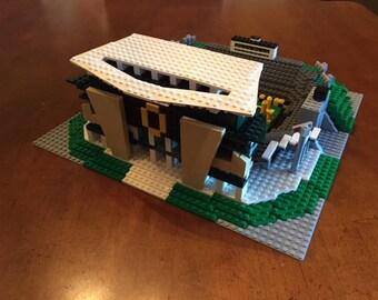 Oregon Ducks' Autzen Stadium, Brick model