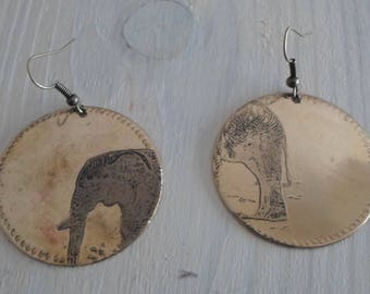 """Earrings """"elephant"""""""