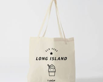 X490Y tote bag tote bag city tote bag canvas capital, cotton, shopping bag, bag and tote bag, travel bag, bag cocktails, long island
