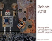 CUSTOM ORDER for THEODORE 2018 Desk Calendar - Robots