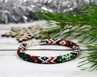 Fairytale gift ideas for women bracelet christmas jewelry for gift for girlfriend christmas party bracelet boho beaded bracelet handmade