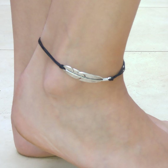 screen products seraphim shot sterling anklet the large pm company feather silver at
