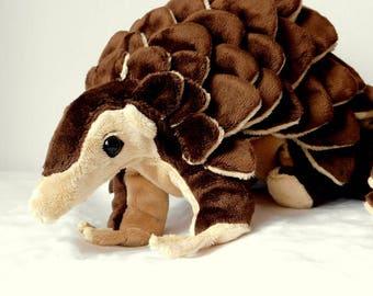 Pangolin stuffed animal