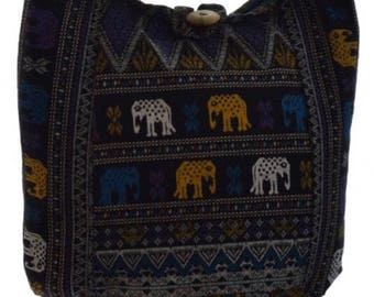 Girls bag,  Small Elephant bag,  Girls hippie bag, Sling, Shoulder , Boho, Hobo, Gypsy bag, Boho sling, Thailand, Thai bag