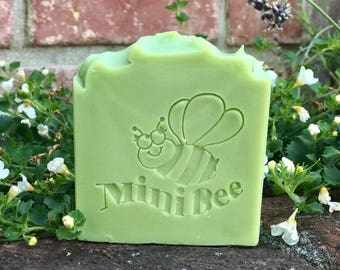 ROSEMARY MINT Shea Butter/Buttermilk Soap, Handmade Soap, Cold Process Soap, Moisturizing