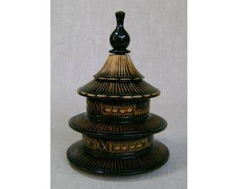 Japanese Pagoda Jewelry Case