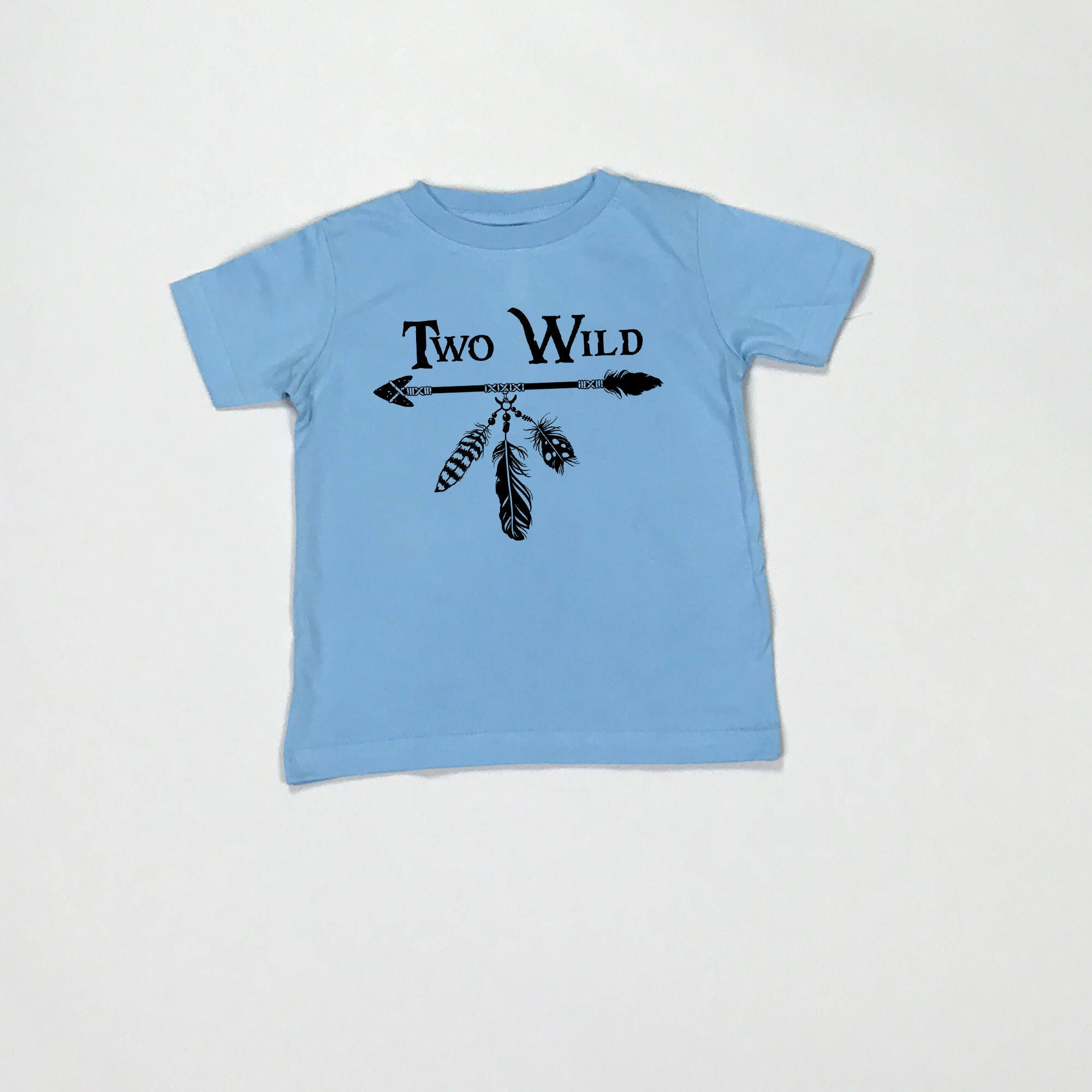 Two Wild Year Old Birthday Shirt Second 2nd