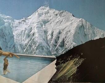 Collage Art, Paper Art, Weird Art, Vintage surreal