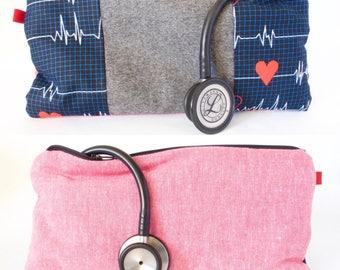 Stethoscope Carrier. Medical Bag. Nurse Bag. Medical Student Bag. EMT Bag. Physician Assistant. Medical Assistant. RN Gift. Nursing Student