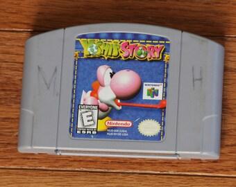 Yoshi's Story Nintendo 64 YoshisStory  TESTED WORKING N64 Game Cartridge Great