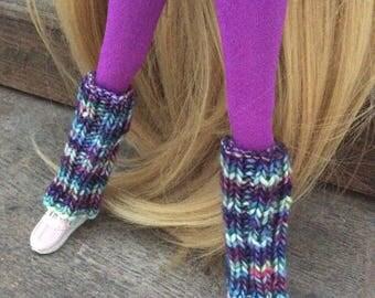 Choice of merino wool color legs for Pullip, Blythe, Momoko or similar sizes