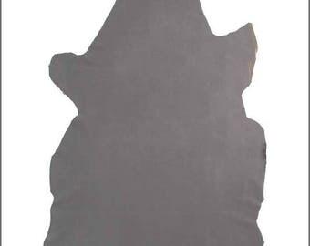 A414-P-skin soft STRETCH grey/Taupe NUBUCK leather.
