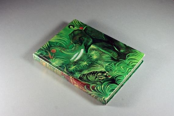 Children's Hardcover Book, The Jungle Book, Rudyard Kipling, Illustrated, Literature, Fiction, 1988