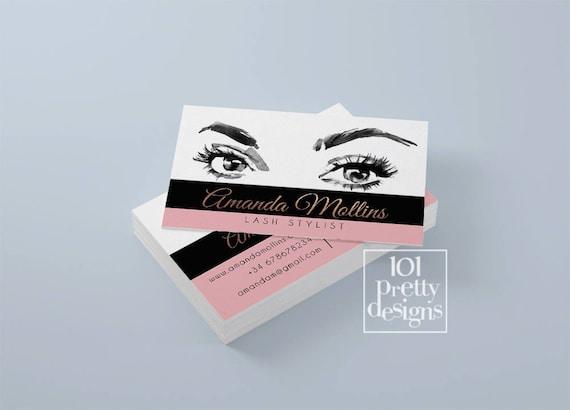 Watercolor business card rose gold printable business card design il570xn colourmoves