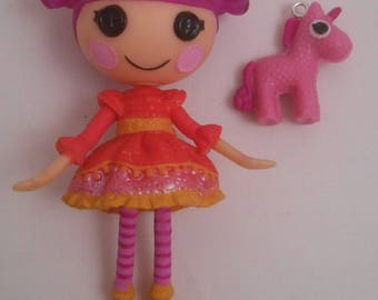 CUSTOM Ornament Made From Lalaloopsy Lady Stillwaiting & Unicorn Mini NEW