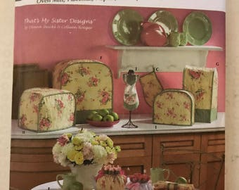 Simplicity 4341 - Easy to Sew Kitchen Accessories Oven Mitt, Placematt, Napkin, Teapot and Appliance Covers